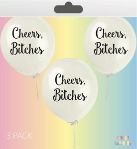 Cheers, Bitches-Balloon Pack
