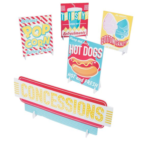 Concession Signs