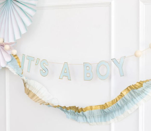 It's a Boy Blue Banner