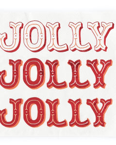 Holiday Jolly Napkins