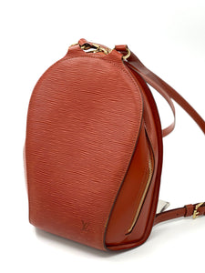 Louis Vuitton Epi Leather Mabillon Backpack Bag