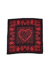 Laden Sie das Bild in den Galerie-Viewer, Dior Scarf Red in Black