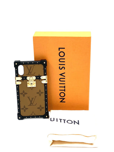 Louis Vuitton Eye Trunk For IPhone X/XS Monogram Reverse coated canvas