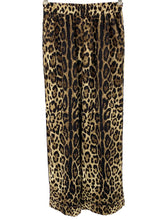 Laden Sie das Bild in den Galerie-Viewer, Dolce Gabbana leopard-print straight trousers