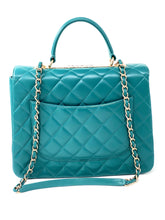 Laden Sie das Bild in den Galerie-Viewer, Chanel Trendy CC Top Handle Bag Quilted Lambskin Large