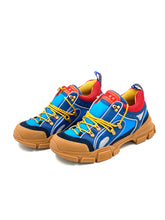 Laden Sie das Bild in den Galerie-Viewer, Gucci Blue-red Flashtrek  Sneakers