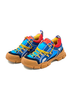 Gucci Blue-red Flashtrek  Sneakers