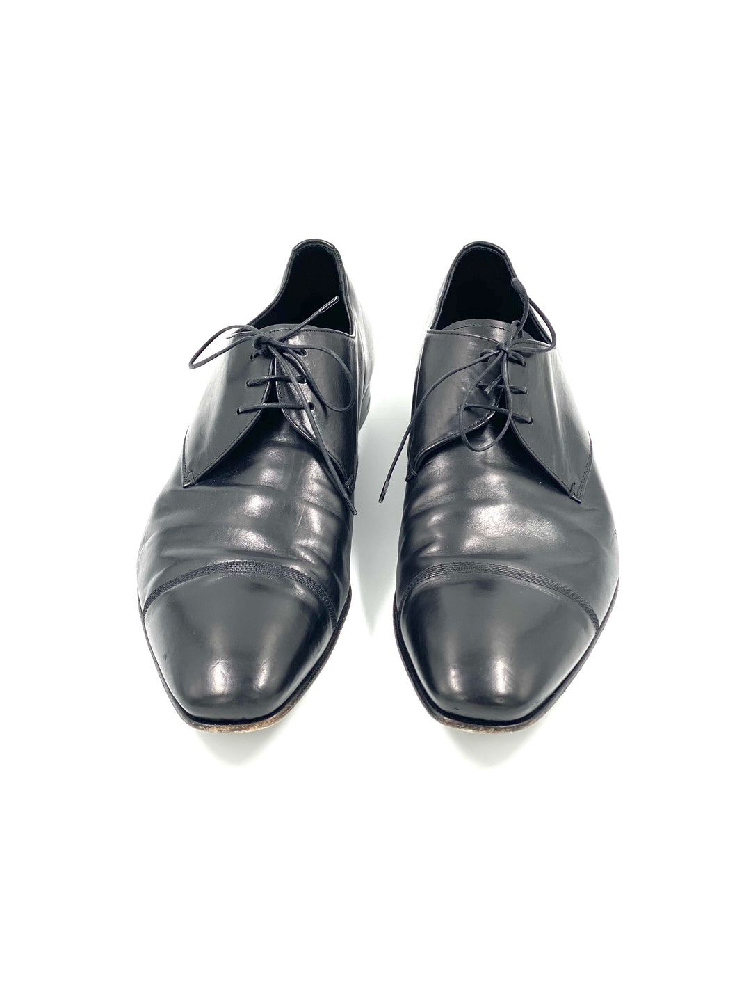 Prada Cap Toe Oxfords