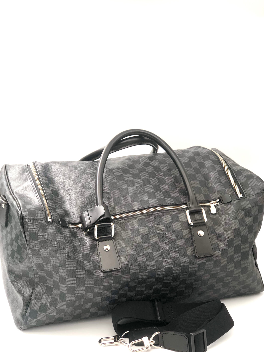 Louis Vuitton Damier Graphite Canvas Roadster Duffel Bag