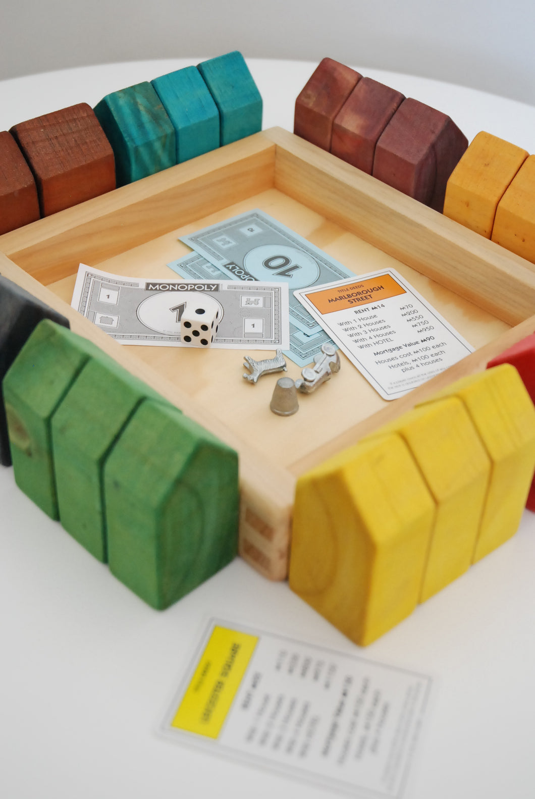The Monopoly Inspired Houses