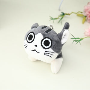 Janpan Cat Anime Chi's Sweet Home 10cm Keychain Toys Plush Cat Stuffed Animal Small Pendant Dolls Gift Plush Toys