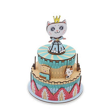 Load image into Gallery viewer, DIY Wood Music Box Carousel Birthday Gift Toy with Machine Core Home Decor Children Bedroom Light Music Box Christmas Gifts