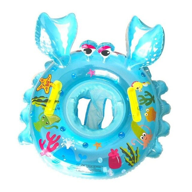 Baby Seat Float Swim Ring Inflatable Infant Kids Swimming Pool Rings Water Toys Swim Circle for Kids