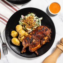 Union Chicken Piri Piri Half Chicken with Herb Butter Roasted Potatoes & Slaw