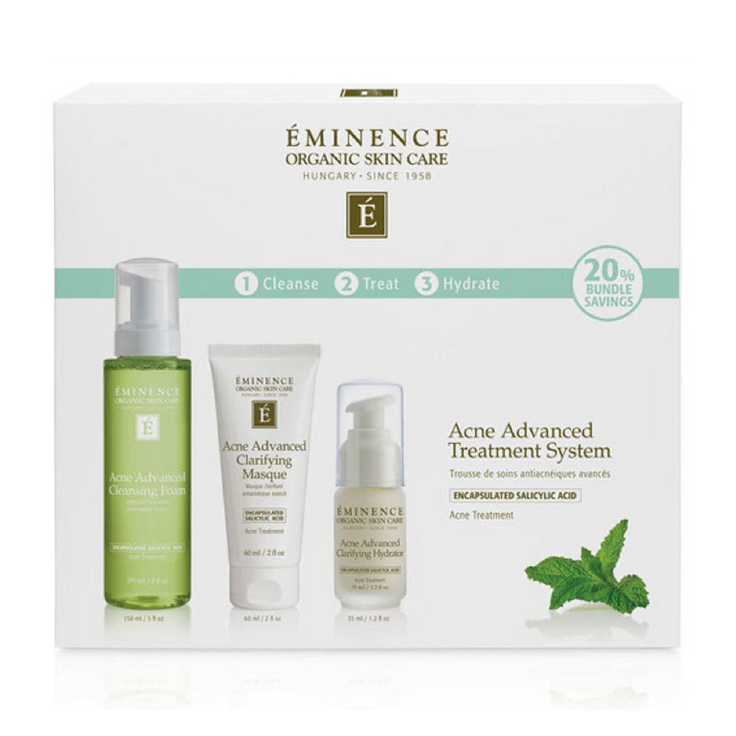 Acne advanced treatment system