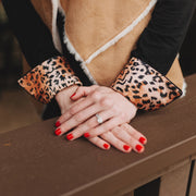 Cheetah Safari French Cuffs