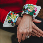 Ornamental Garland French Cuffs