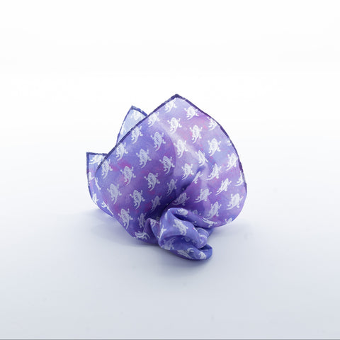TCU Frog Squadron Pocket Square