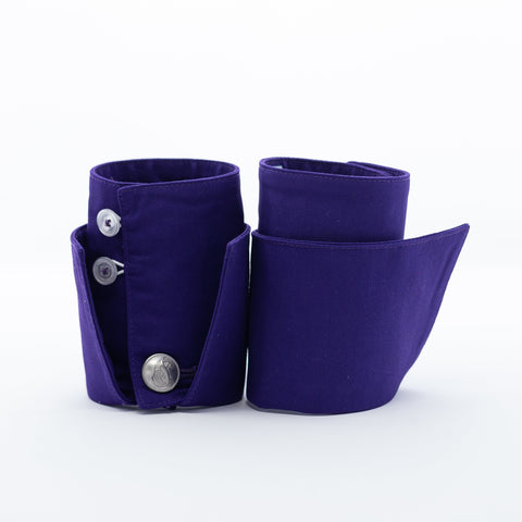 PURE Purple French Cuffs