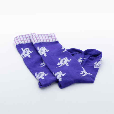 TCU Frog Squadron Men's Dress Socks