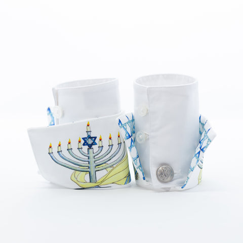 Hanukkah French Cuffs