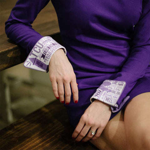Ladies TCU french cuff