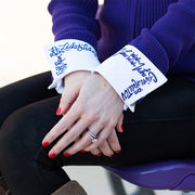 TCU Chant French Cuff White Close-up
