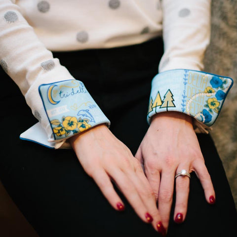 Tri delta french cuffs
