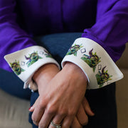 frog lashes french cuffs tcu