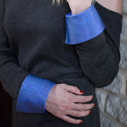Indigo Chic French Cuff
