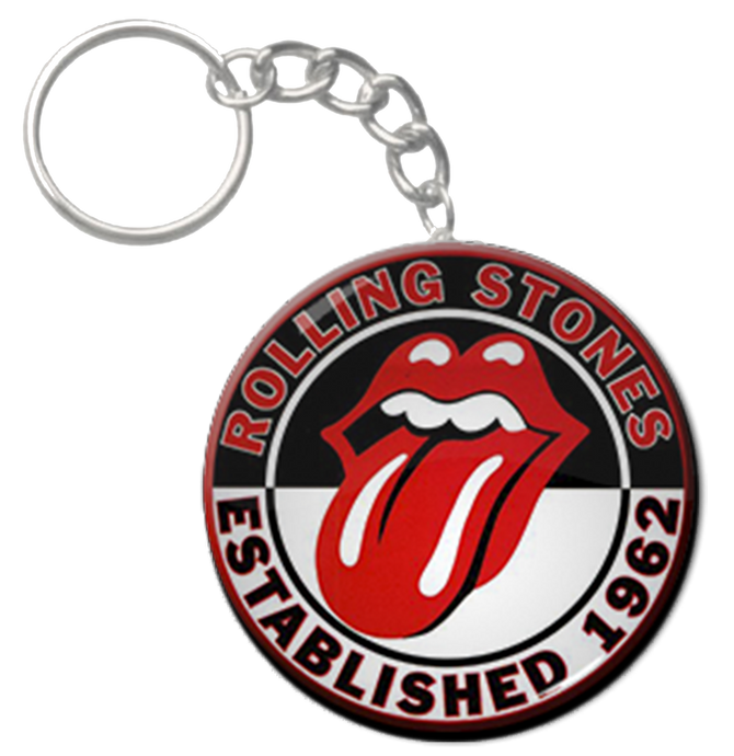 Official Rolling Stones Keyring (55th anniversary)