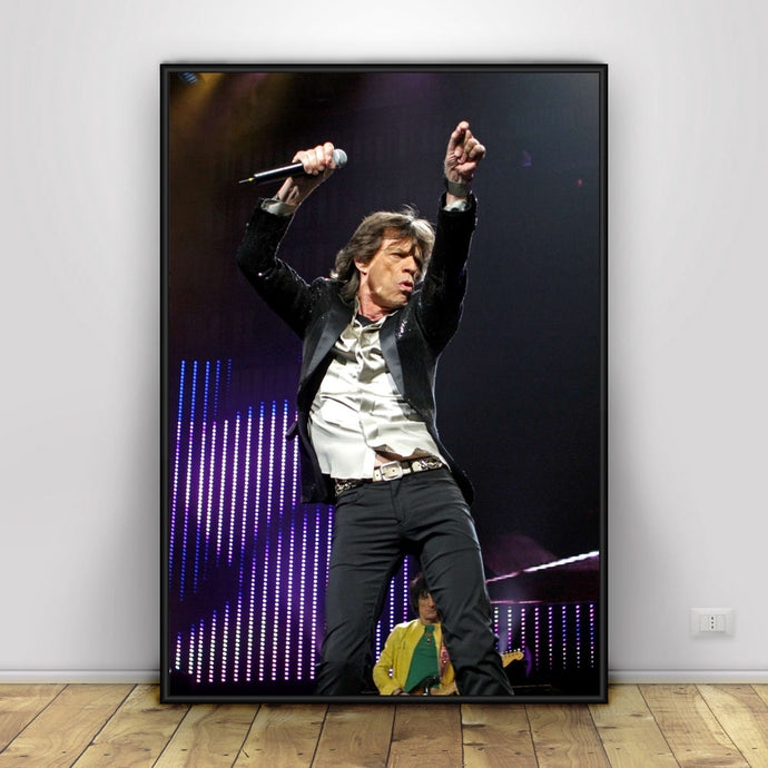 Mick Jagger Poster Home