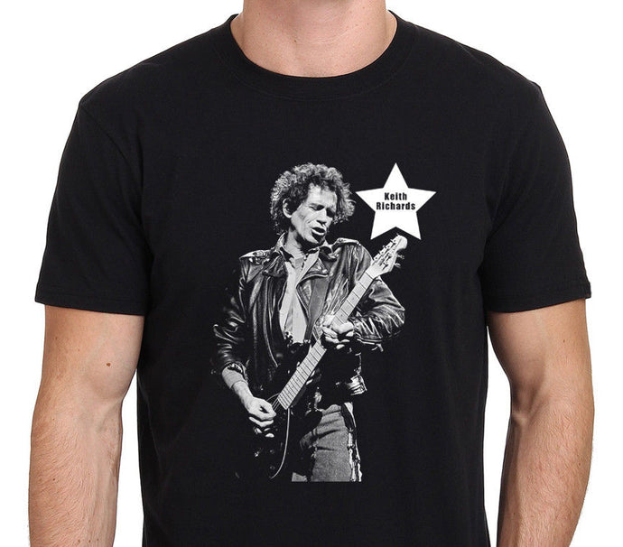 Keith Richards Guitarist Rock Legend T-Shirt