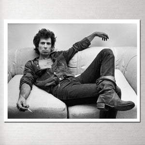 Keith Richards Poster, Wall Art Picture