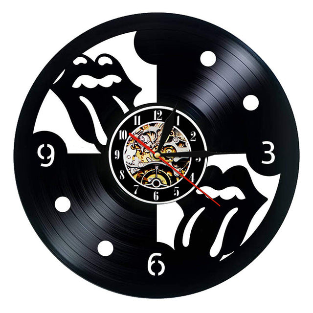 Wall Clock - Double Tongue