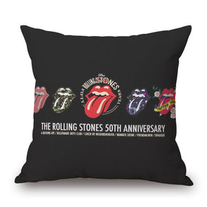 Pillow Rolling Stones 50th Anniversary