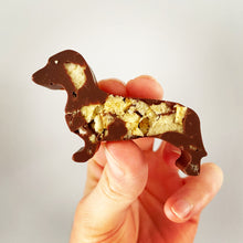 Load image into Gallery viewer, Crispy sausage shaped dog chocolate