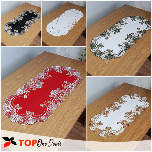 Oval Table Runners 40x90cm