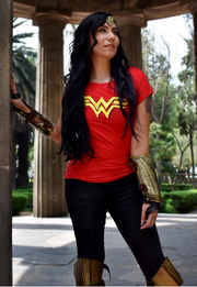 BLUSA WONDER WOMAN LOGO CLÁSICO MOVIE