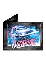 CARTERA BACK TO THE FUTURE DELOREAN