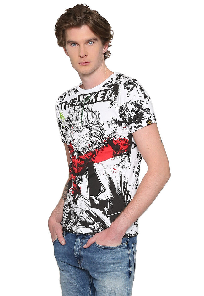 PLAYERA THE JOKER FULL PRINT B2BCPJOK003WB