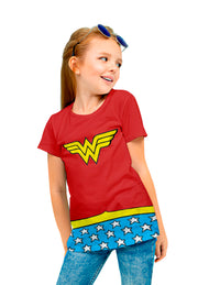 BLUSA WONDER WOMAN TRAJE  KIDS