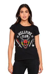 BLUSA STRANGER THINGS HELLFIRE CLUB