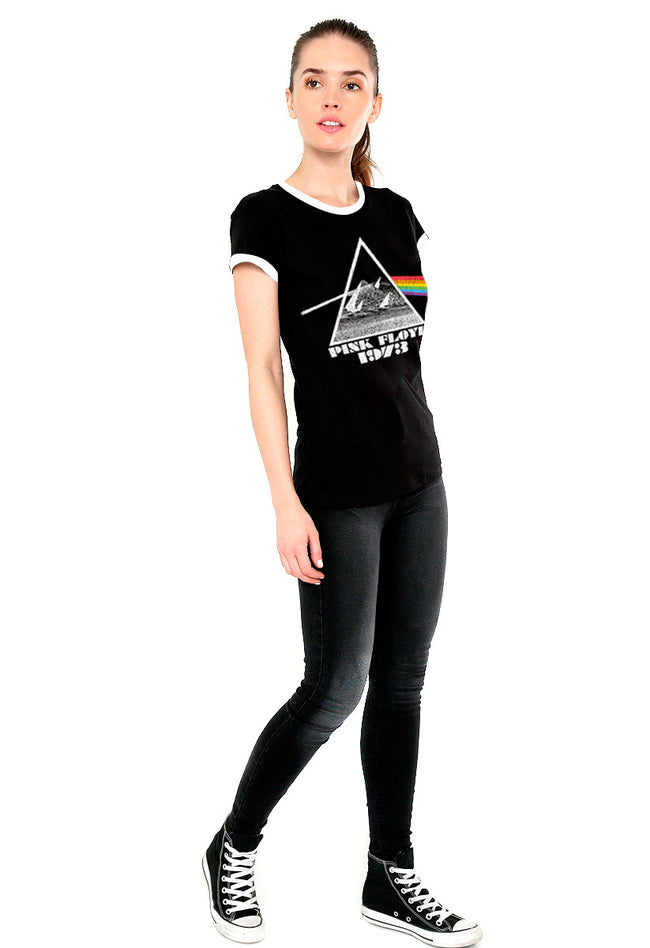BLUSA PINK FLOYD  RINGER DARK SIDE OF THE MOON