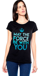 BLUSA STAR WARS MAY THE FORCE BE WITH YOU