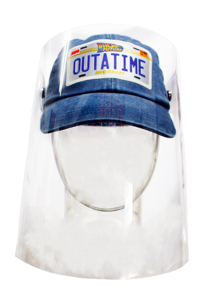 GORRA CON CARETA BACK TO THE FUTURE OUTATIME