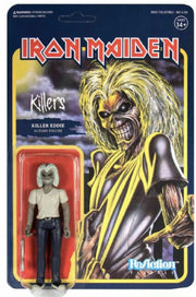Super 7 Reaction Iron Maiden  Killers Eddie