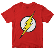 PLAYERA FLASH LOGO CLASICO KIDS
