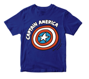 PLAYERA CAPITAN AMERICA KIDS