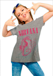 PLAYERA NIRVANA CABALLITO DE MAR KIDS